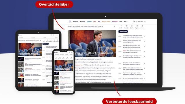 Een vernieuwd NU.nl voor meer overzicht en een betere leeservaring