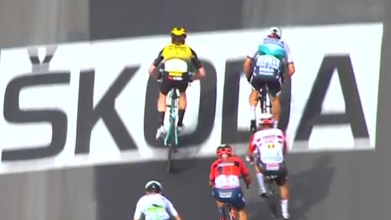 Zo pakte Teunissen het geel in de eerste etappe van de Tour
