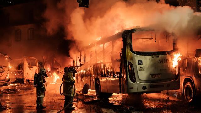 Staking tegen bezuinigingen in Brazilië leidt tot botsing met politie