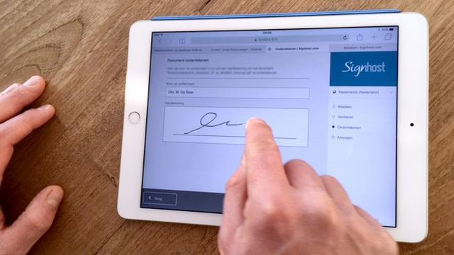 Makelaarsland laat klant koopovereenkomst met iDIN ondertekenen