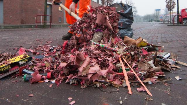 Gemeente Alphen verspreidt geen speciale vuilniszakken voor vuurwerk