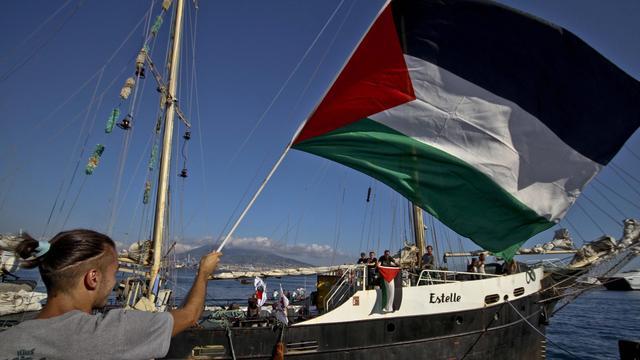 Palestijnse actievoerders willen zeeblokkade van Gaza met schip doorbreken