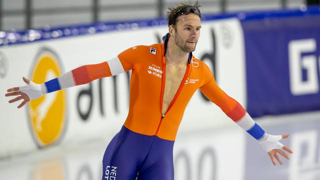 Thomas Krol greep op fraaie wijze naar de wereldtitel op de 1.500 meter.
