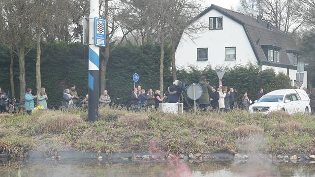 De afscheidsroute begon om 09.00 uur in Loosdrecht.