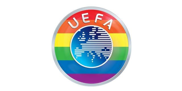 UEFA slaat terug na felle kritiek en plaatst regenboogkleuren bij logo