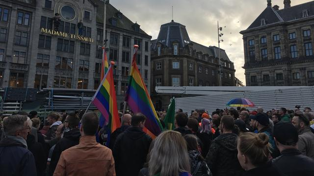 Tweeduizend mensen liepen mee in mars tegen homogeweld