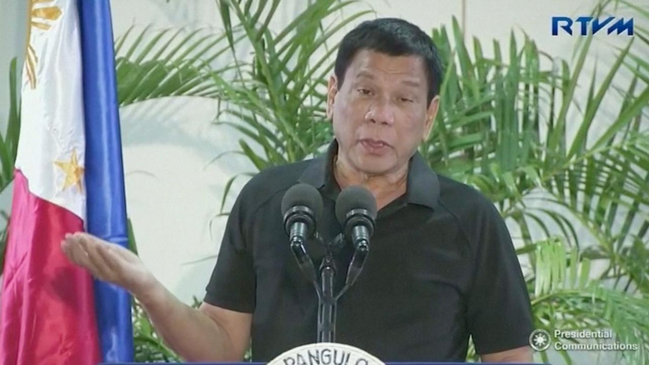 Filipijnse president Duterte vergelijkt zichzelf met Hitler