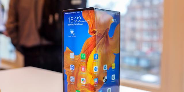 Huawei presenteert nieuwe vouwbare smartphone Mate Xs