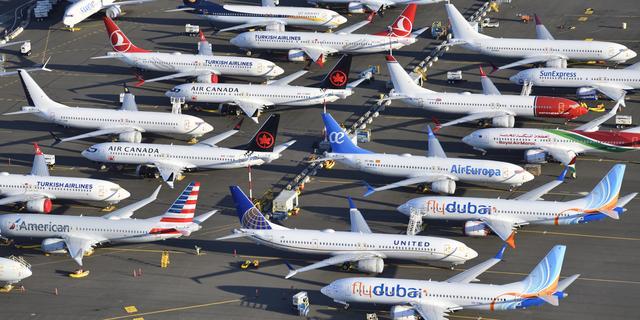 'Boeing verwacht productie 737 MAX-toestellen in mei weer op te starten'