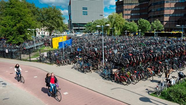 Kleine daling in aangiften fietsendiefstal in Utrecht
