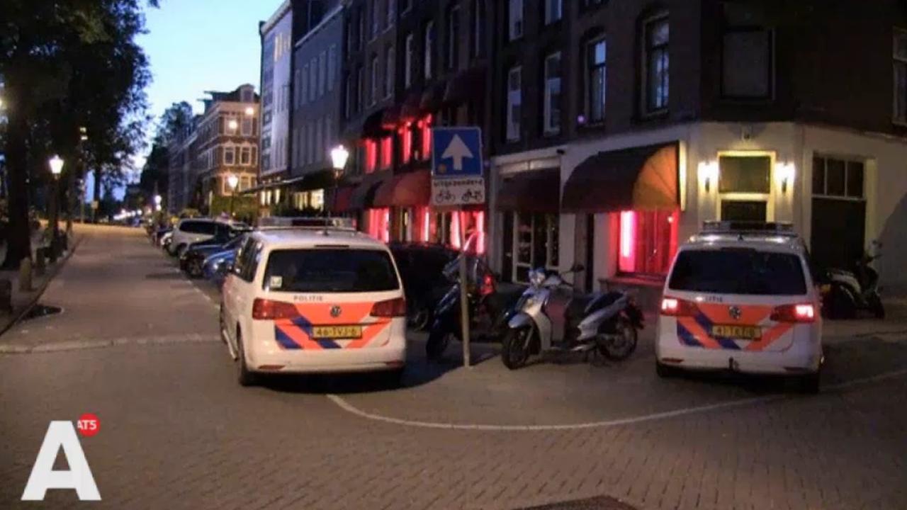 Prostituee beroofd op Ruysdaelkade
