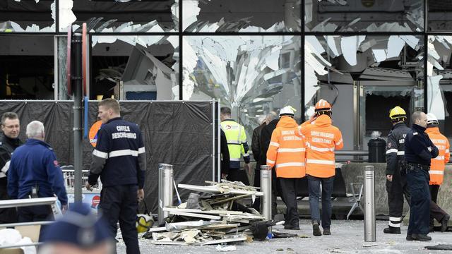Nog 44 slachtoffers aanslagen Brussel in ziekenhuis
