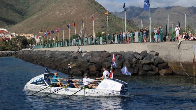 Nederlandse roeiers winnen Atlantische race