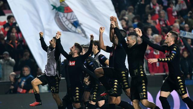 Benfica en Napoli naar achtste finales na afgang Besiktas