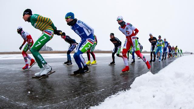 Het kabinet geeft geen groen licht voor een Nederlands kampioenschap marathon op natuurijs.