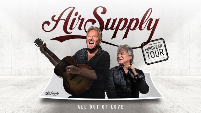 Australische rockband Air Supply in RAI Theater Amsterdam met 10 euro korting
