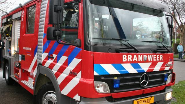 Honderd koeien dood door brand in stal Friese Zandhuizen