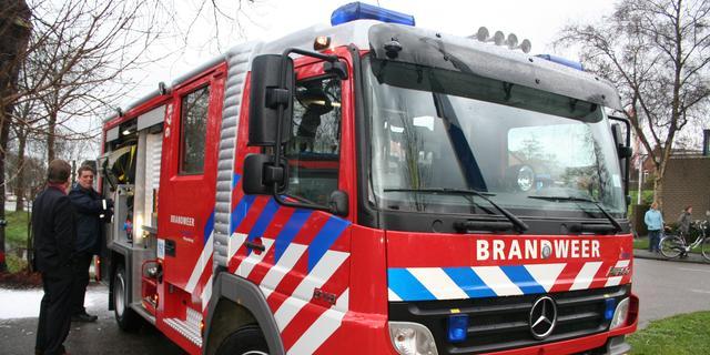 Zes woningen ontruimd door brand in flat Overvecht