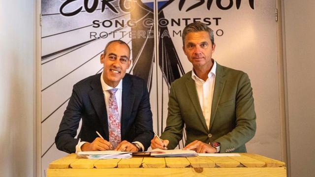 Omroepen en Rotterdam tekenen overeenkomst voor Songfestival