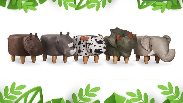 Dierenkrukjes in 5 diersoorten van 99,95 euro voor 54,95 euro