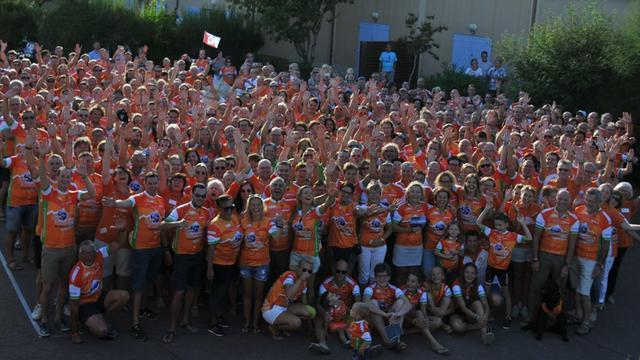 Deelnemers ColSensation bereiken massaal topMont Ventoux