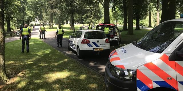 Vier arrestaties voor opruiing en geweldpleging in druk Park Valkenberg