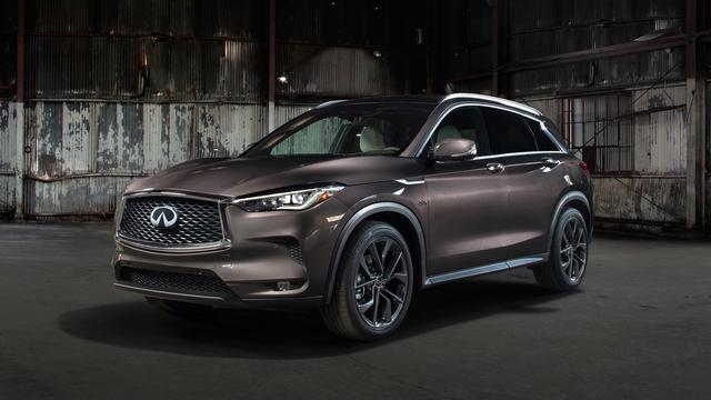 Infiniti presenteert QX50 cross-over