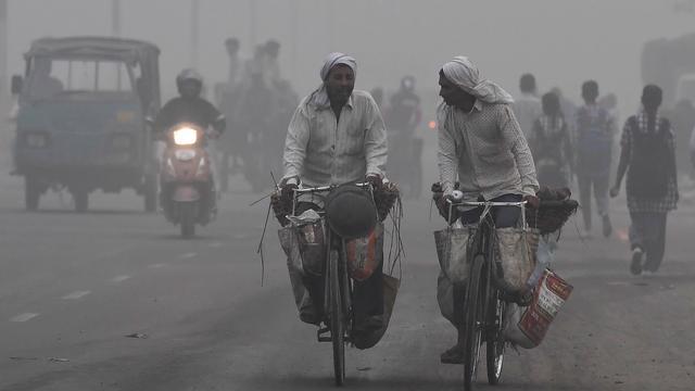 Noodtoestand in New Delhi wegens ernstige smog