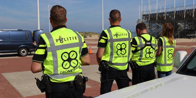 Politie zoekt met drones naar lichaam vermiste surfer bij Scheveningen