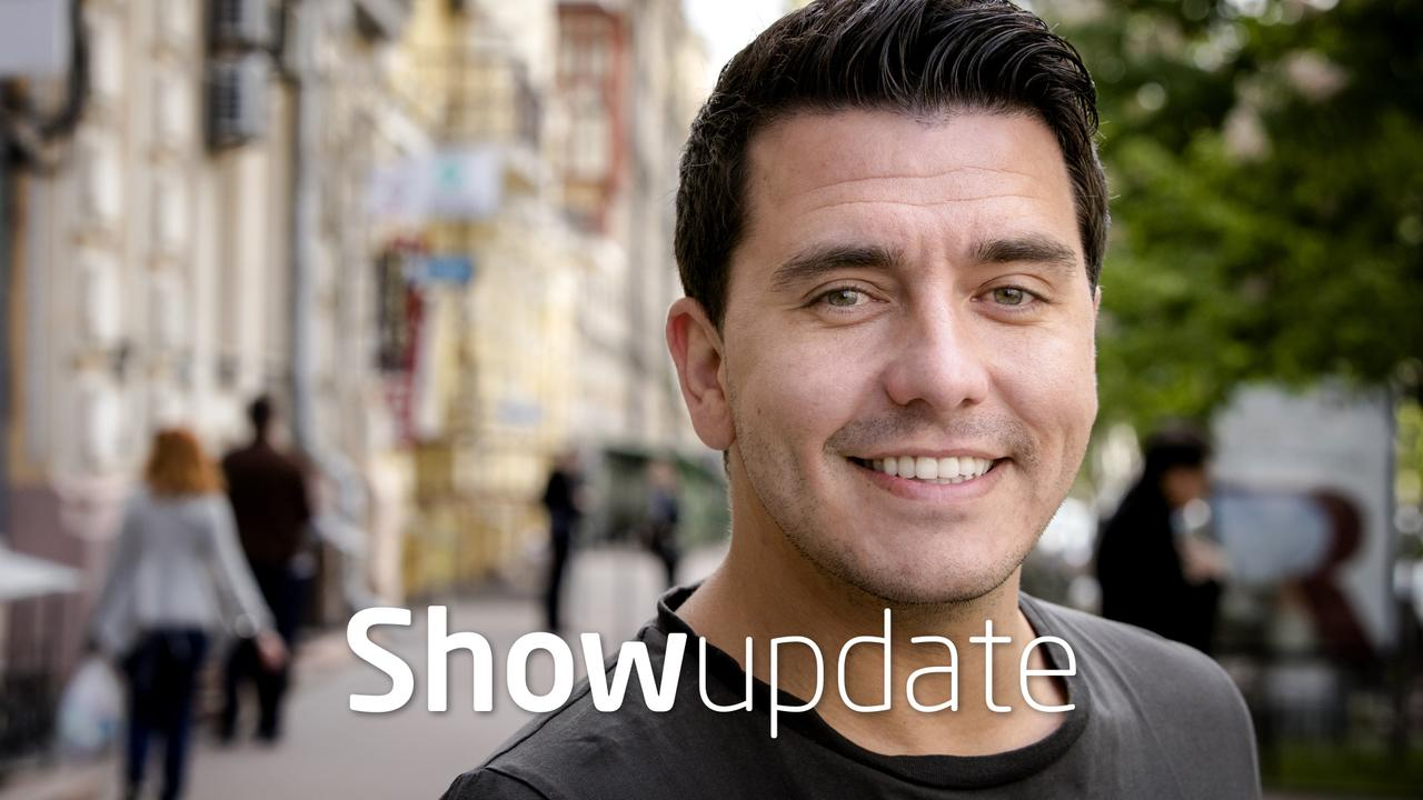Show Update: Jan Smit emotioneel