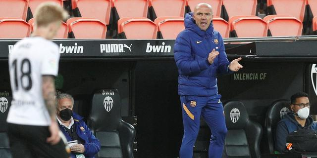 Invalcoach Schreuder looft karakter Barcelona na comeback in Valencia