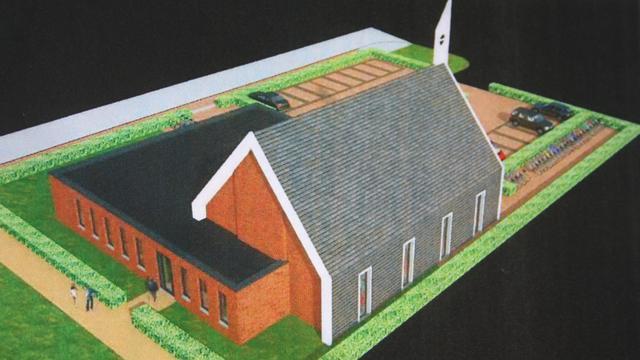 Fracties uiten bezwaren tegen nieuwe kerk