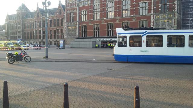 Korpschef noemt lekken informatie aanrijding Amsterdam CS doelbewust