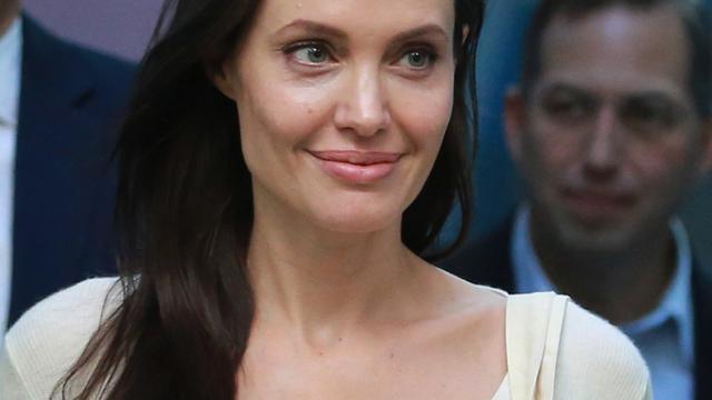 Angelina Jolie met haar kinderen in Kung Fu Panda 3