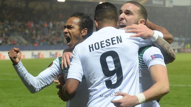 Tien man FC Groningen in laatste seconden naast Slovan Liberec