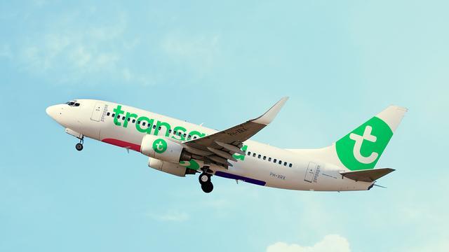 Drie kwart gedupeerde reizigers Transavia op bestemming aangekomen