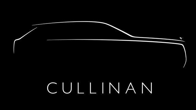 De eerste SUV van Rolls-Royce heet Cullinan