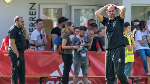 Ajax-trainer Keizer kan alleen maar 'hopen en bidden' voor Nouri