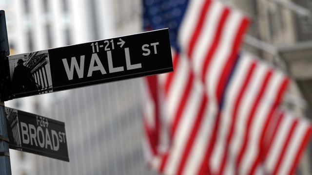 Wall Street doet stapje terug
