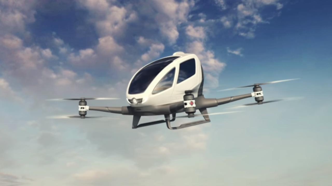 Dit is de eerste passagiersdrone ter wereld