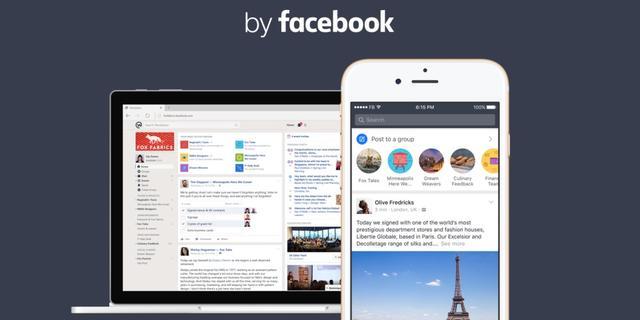 Facebook brengt zakelijke dienst Workplace uit
