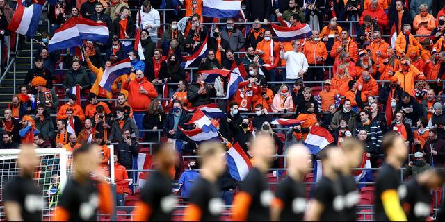 Fans EK-duels in Johan Cruijff ArenA moeten op wedstrijddag test afnemen