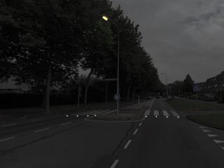 Lichtjes in wegdek bij zebra's in Beijum en Vinkhuizen