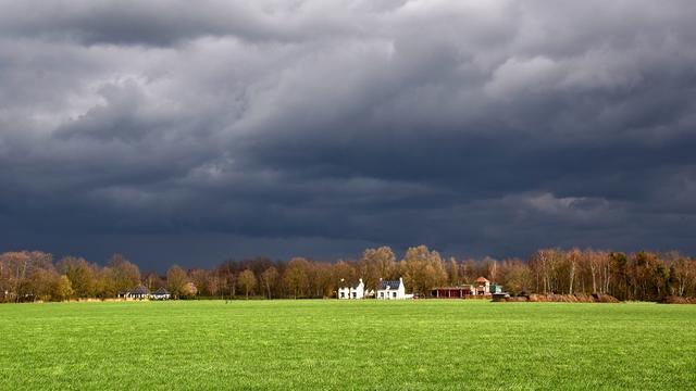 Weerbericht: Tot woensdagavond veel regen en bewolking