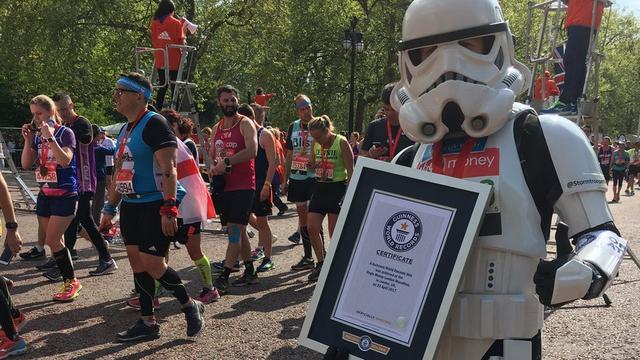 Marathon van Londen levert 39 nieuwe records voor Guinness Book op