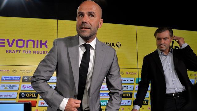 Borussia Dortmund bevestigt aanstelling Bosz tot medio 2019