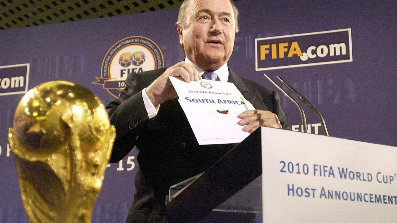 Blatter: 'Zuid-Afrika kan trots zijn op organisatie WK'