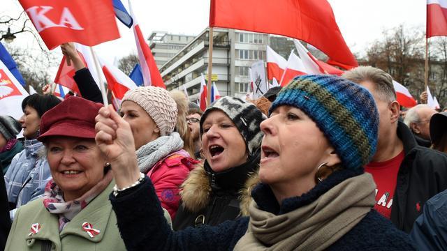 In twintig Poolse steden demonstraties tegen omstreden wet