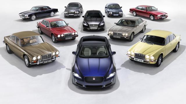 Jubileum-versie Jaguar XJ gepresenteerd
