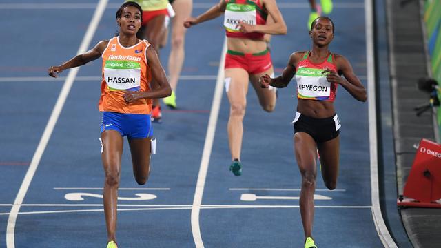 Hassan overtuigend naar halve finale 1500 meter, ook Bonevacia verder